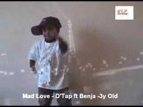 Sri Lanka Music Video Clip Mad Love - D'Tap ft Benja