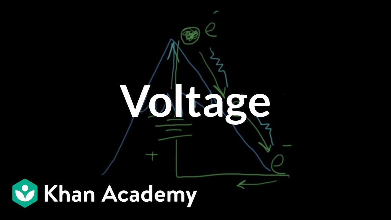 Voltage (video) | Getting started | Khan Academy