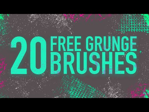 20 FREE Grunge Brushes For Photoshop | Free Assets And Elements