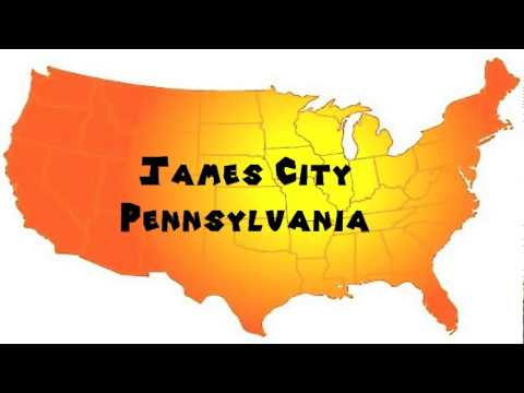 How to Say or Pronounce USA Cities — James City, Pennsylvania