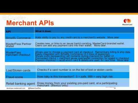 MasterCard Open API