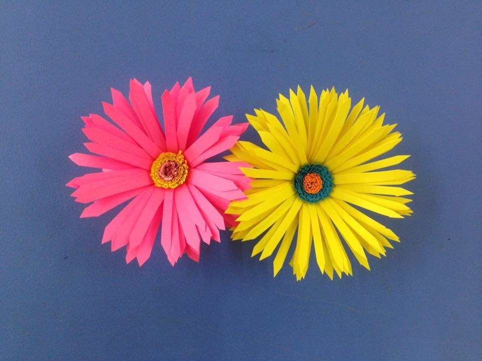 How to make paper flower | Easy origami flowers for beginners making ...