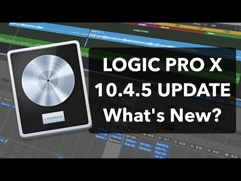 LOGIC PRO X 10.4.5 UPDATE - What's New? Overview of New Features!