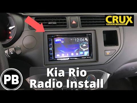 2012 - 2017 Kia Rio Bluetooth Stereo Install | Pioneer AVH-X2800BS