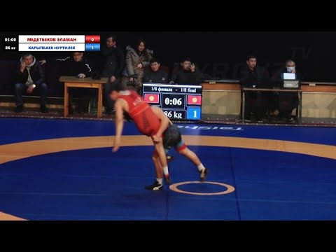 Нуртилек Карыпбаев I Чемпион КР по вольной борьбе 2021 чемпион