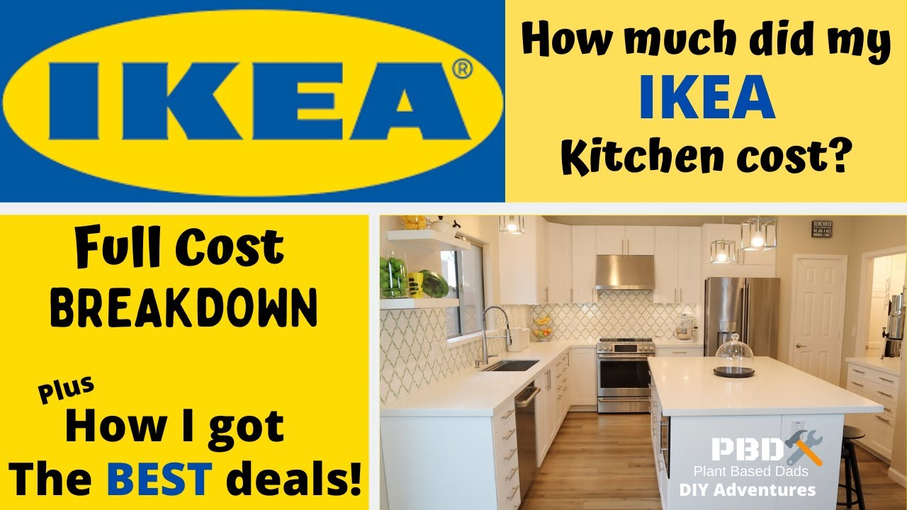 How Much Did My Ikea Kitchen Remodel Cost Youtube