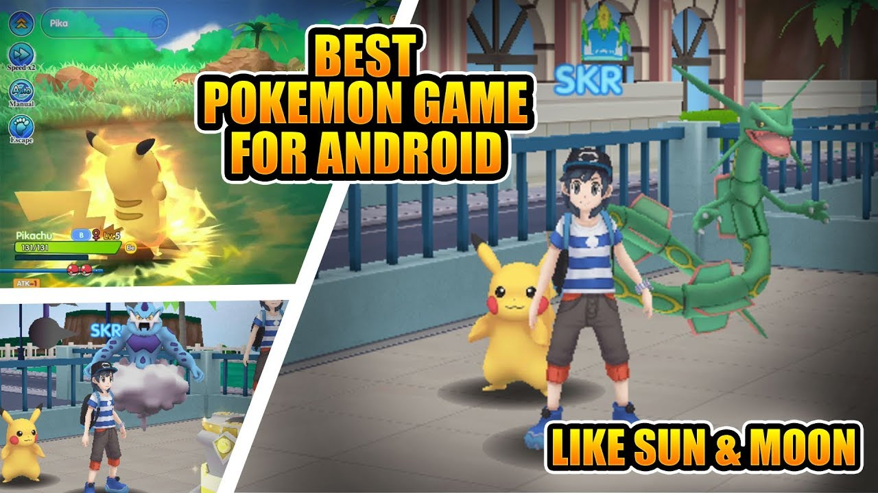 Best Pokemon Game For Android  390MB Only   2018    YouTube Best Pokemon Game For Android  390MB Only   2018