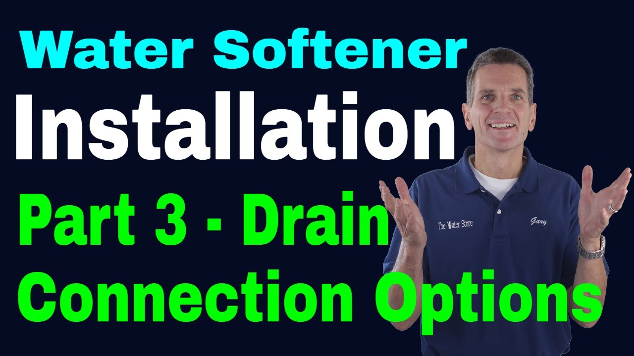 Water Softener Installation Part 3 Drain Connection Options Youtube Electrical Wiring Diagram Besides Basement The Estore