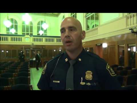 Michigan State Police Captain talks about community policing