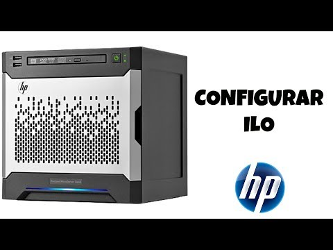 Como configurar un Hp Proliant Microserver gen8 ILO