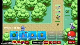 pokemon tower defense#1 bulbasur yo te eligo