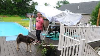 OUR HOUSE POUNDED BY STORMS!!! | Subscribe: http://bit.ly/SubToRoma...
