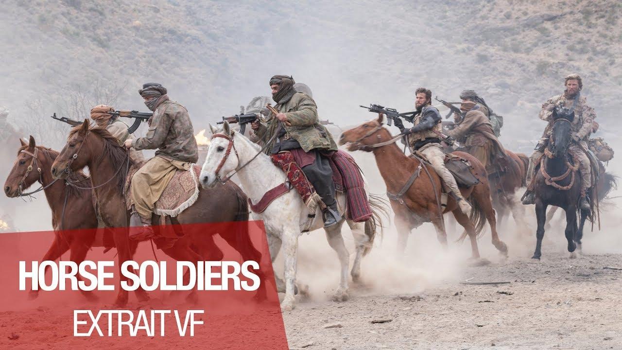 """HORSE SOLDIERS - Extrait """"première fois à cheval"""" - VF"""