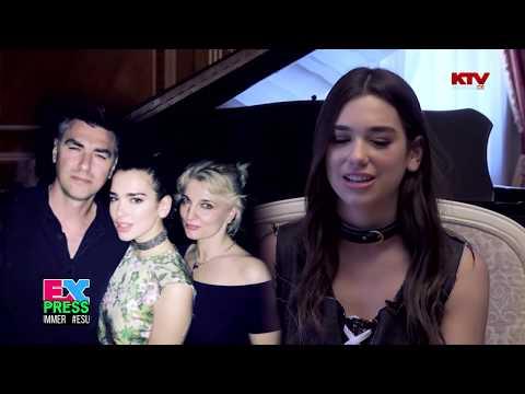 Dua Lipa, Intervista për KTV 08.08.2016