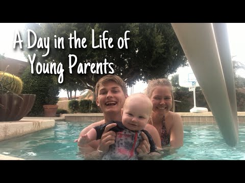 A Day In The Life As Young Parents In College