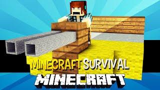 Minecraft Survival Ep.95 - O Avião de Guerra !!!