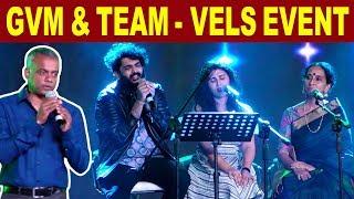 Sid Sriram, Shashaa Tirupati, Bombay Jayashree & GVM - Live Performance | ENPT | Cineulagam