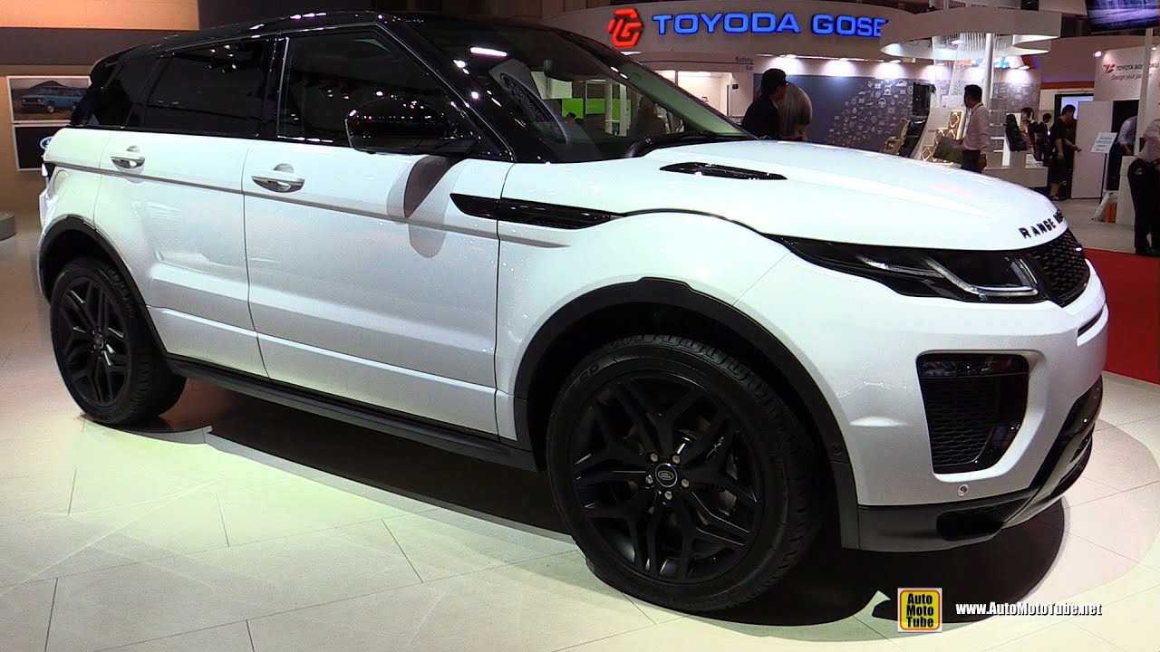 2016 Range Rover Evoque HSE Si4 Exterior and Interior Walkaround