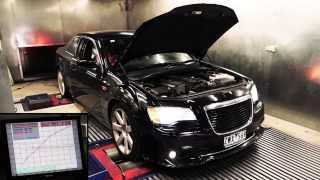 300C SRT8 Dyno Test -  Stock, XForce Exhaust and Flash Tune