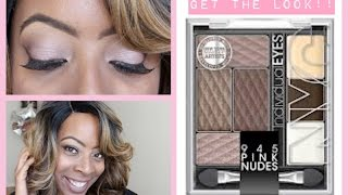 NYC Cosmetics 945 PINK NUDES Individual Eyes Palette | GREAT FOR MAKEUP BEGINNERS!!