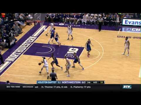 houston-baptist-at-northwestern---men's-basketball-highlights