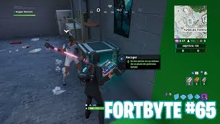 Fortnite Battle Royale ? Fortbyte Challenges How to get the Fortbyte #65