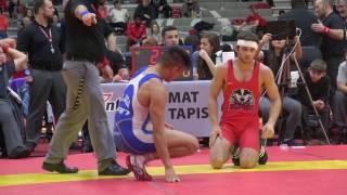 2017 Guelph Open FS57kg Sam Jagas (Brock) vs Melvin Arciaga (Bears)
