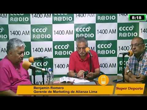 Benjamin Romero Se Despide De Alianza Lima Superdeporte Viernes 13 12 19