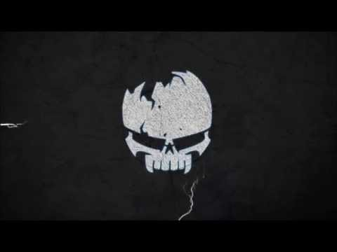 Skull Death's head Motion Intro - Free Video Background