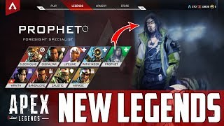 Apex Legends: NEW CHARACTER / LEGENDS COMING - Prophet / Foresight Abilities & More