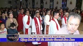 Nghi Thuc Hon Chan Chua GX St Maria Goretti San Jose thumbnail