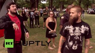 USA: 'White Lives Matter' activists clash with counter-protesters in Buffalo