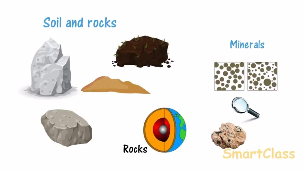 small resolution of Rocks and Minerals CBSE class 5 Science - YouTube