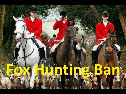 Fox Hunting Ban Repeal