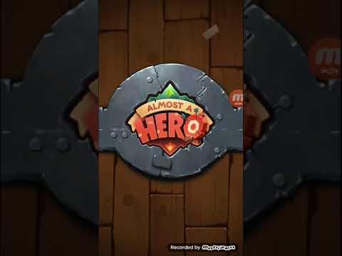Anel De FOGO!!! - ALMOST A HERO #1