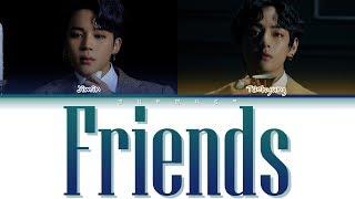 Download lagu BTS JIMIN, V - Friends (Color Coded Lyrics Eng/Rom/Han)