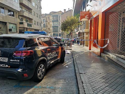 Fallece de un infarto en plena calle en Ourense