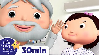 Staying in The Hospital | Sick Song | +More Nursery Rhymes and Baby Songs | Little Baby Bum