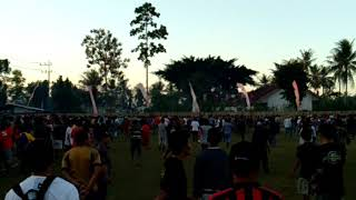 Tawuran Sporter Sepak Bola Laga Pancer vs Cluring Banyuwangi.