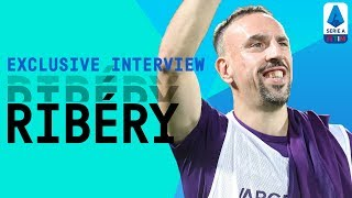 Fiorentina's French Superstar Franck Ribéry | Exclusive Interview | Serie A