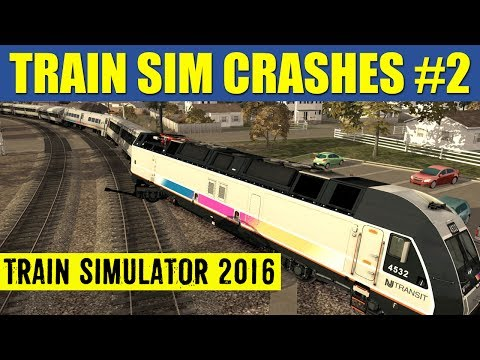 Train Simulator 2016 Crash Compilation #2 |