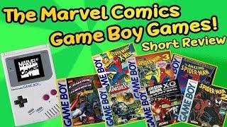 The Marvel Comics Game Boy Games - Short Reviews