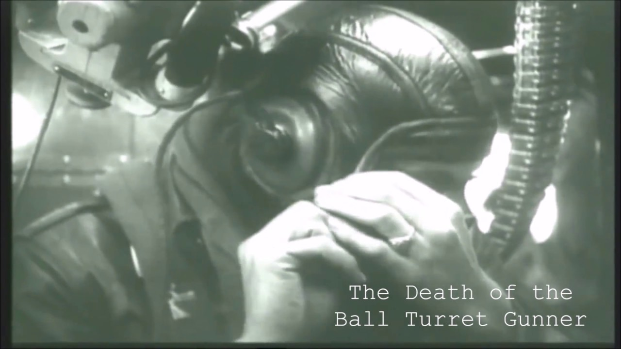 an analysis of the death of the ball turret gunner by randall jackson jarrell