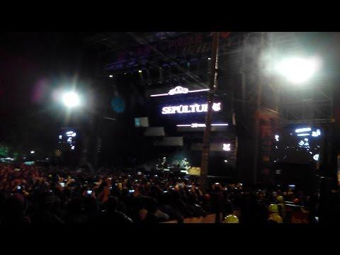Territory - Sepultura live Rock Al Parque 2016 2 Jul 2016 Bogota Colombia