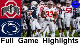 #3 Ohio State vs #18 Penn State Highlights | College Football Week 9 | 2020 College Football
