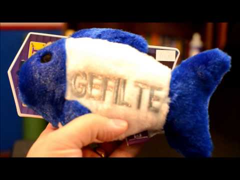 Gefilte Fish Dog Toy For Hanukkah