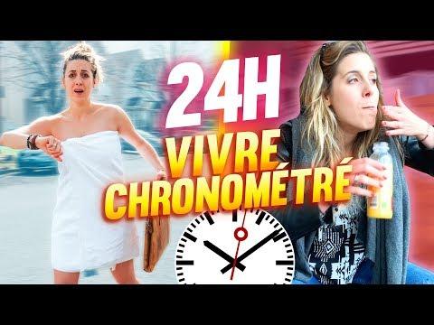 VIVRE PENDANT 24H CHRONOMÉTRÉ - 24H CHALLENGE | DENYZEE
