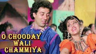 O Chooday Wali Chammiya | Jaya Prada Sunny Deol | Veerta (1993) Bollywood Songs