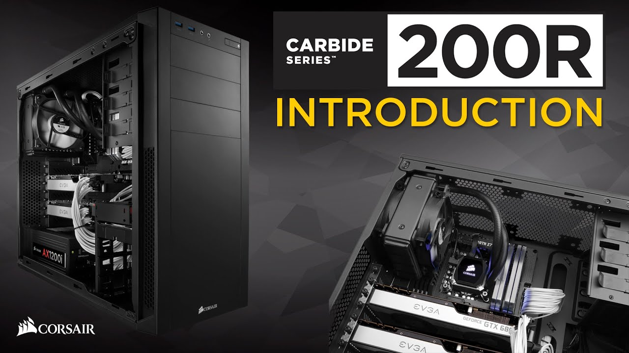 finest selection 1bc6d 117ab Carbide Series™ 200R Compact ATX Case