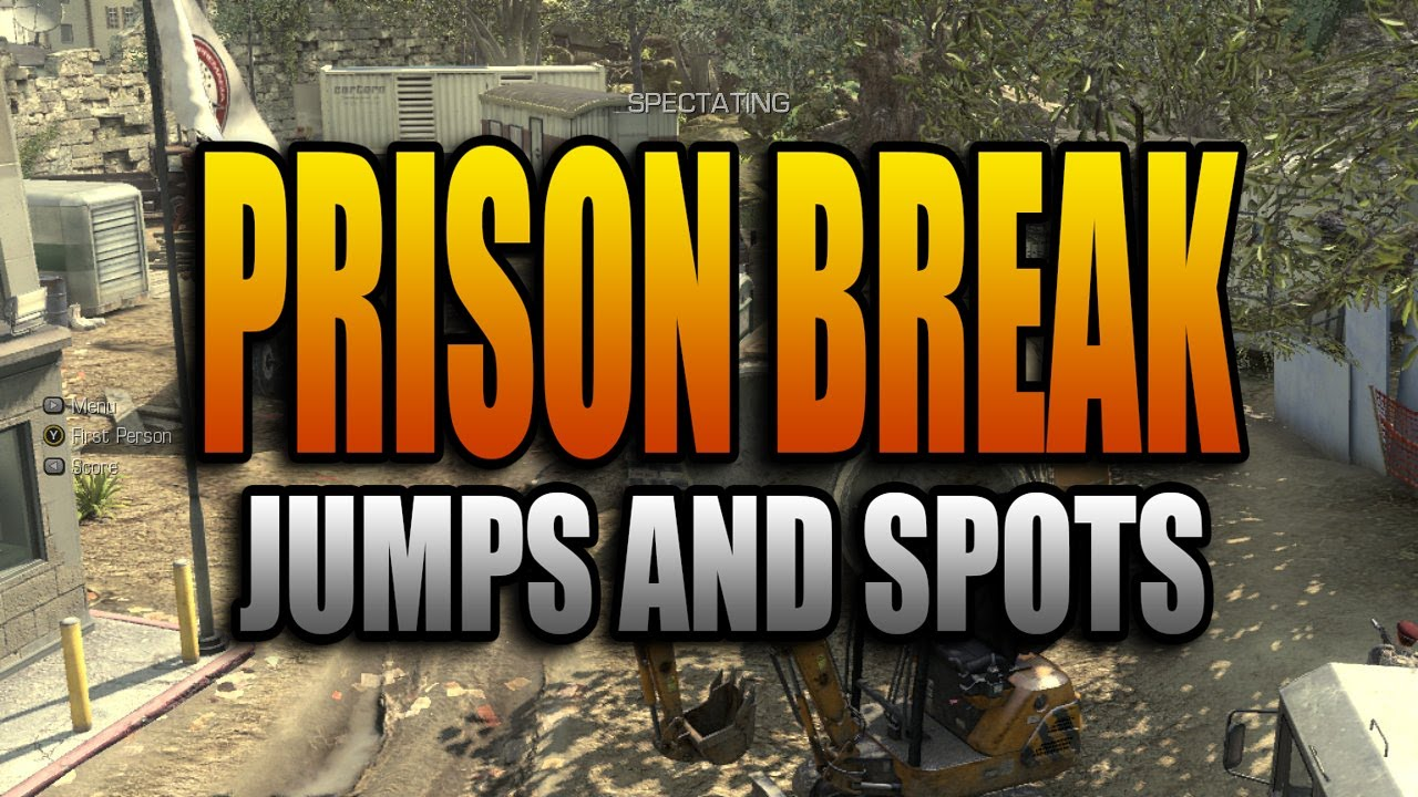 Ghosts Jumps And Spots Prison Break Call Of Duty Ghost Secret